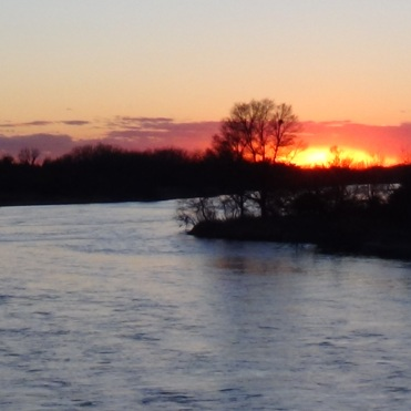 Another sunset on the Platte