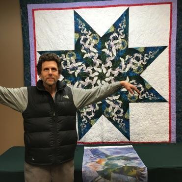 John Markovitz makes like a crane
