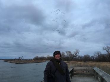 Dan Bentley on the Platte